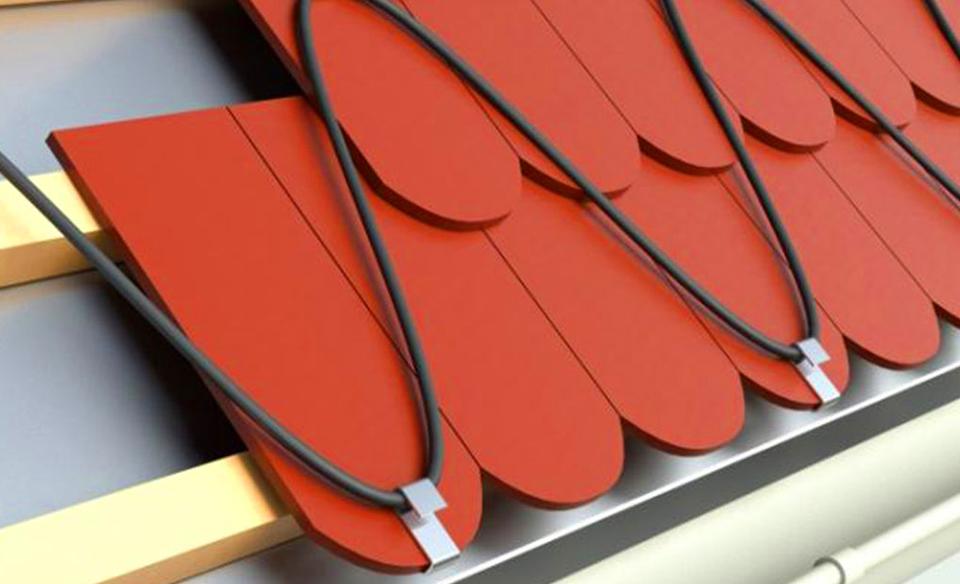Купить архитектурный обогрев от наледи на крыше и открытых площадях в Обнинске